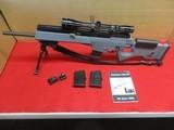 H&K SL8 .223 Semi-Auto Rifle RARE w/scope, spare mags