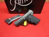 Kimber Solo DC LG 9mm Crimson Trace Grips w/box, manual Exc. Cond.