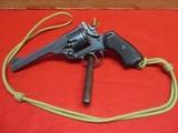 "Webley Mark VI Service Revolver .455 cal. 6"" w/lanyard Made 1917"