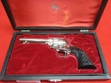 Colt Frontier Scout Lawman Series Bat Masterson 22LR Nickel Like New in Box