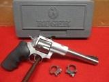 "Ruger Super Redhawk 7.5"" 44 Magnum w/Original Box, Manual, Scope Rings"