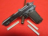 Steyr Hahn Model 1911 Pistol Made 1912 Chilean Contract 9x23mm