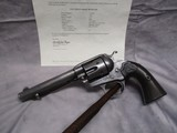 """Colt Bisley Frontier Model .44 WCF 5.5"""" w/Factory Letter, Possible Mexican Civil War Use"""