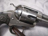 """Colt Bisley Frontier Model .44 WCF 5.5"""" w/Factory Letter, Possible Mexican Civil War Use - 10 of 15"""