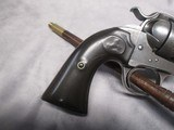 """Colt Bisley Frontier Model .44 WCF 5.5"""" w/Factory Letter, Possible Mexican Civil War Use - 9 of 15"""
