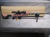 Howa 1500 APC Chassis Rifle 6.5 Creedmoor American Flag Cerakote Brand New In Box - 1 of 15