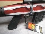 Howa 1500 APC Chassis Rifle 6.5 Creedmoor American Flag Cerakote Brand New In Box - 3 of 15