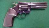 "Colt Diamondback .22 LR, 4"" barrel, blued"