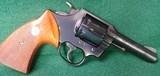 """Colt Lawman MK III, .357 Magnum, 4"""" Barrel, Blued Revolver"""