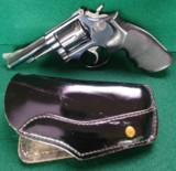 "Smith & Wesson 15-3, 38 S&W Special, 4"" Barrel, Blued Revolver"