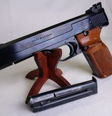 "S&W Model 41, .22 Long Rifle / LR Blued, 6"" Barrel, Vintage ~1970~ Semi-Auto Smith & Wesson Pistol - 1 of 14"