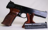 "S&W Model 41, .22 Long Rifle / LR Blued, 6"" Barrel, Vintage ~1970~ Semi-Auto Smith & Wesson Pistol - 2 of 14"