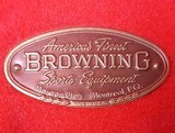 Browning MEDALIST ~ BELGIAN ~ .22 LR /Long Rifle ~ With case and accessories - 6 of 13