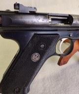 RUGER Mark II Target ~ .22L.R.~ Semi Auto pistol ~ 1989 model ~ 3 Magazines! - 5 of 13