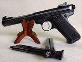 RUGER Mark II Target ~ .22L.R.~ Semi Auto pistol ~ 1989 model ~ 3 Magazines! - 1 of 13