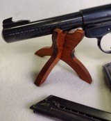 RUGER Mark II Target ~ .22L.R.~ Semi Auto pistol ~ 1989 model ~ 3 Magazines! - 3 of 13