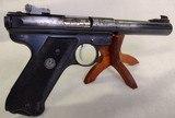 RUGER Mark II Target ~ .22L.R.~ Semi Auto pistol ~ 1989 model ~ 3 Magazines! - 9 of 13