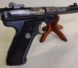 RUGER Mark II Target ~ .22L.R.~ Semi Auto pistol ~ 1989 model ~ 3 Magazines! - 4 of 13