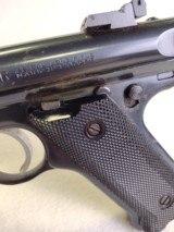 RUGER Mark II Target ~ .22L.R.~ Semi Auto pistol ~ 1989 model ~ 3 Magazines! - 7 of 13