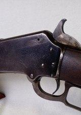 "Marlin Model 1891 ~ 32 cal. ~ 24"" round barrel ~ LEVER ACTION ~ 2nd Variation - 6 of 14"