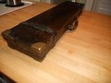 Vintage English Guncase - Leather, Brass Cornered with Henry Atkin Trade Label - 6 of 10