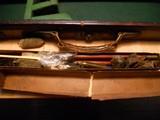 Vintage English Guncase - Leather, Brass Cornered with Henry Atkin Trade Label - 10 of 10