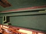 Vintage English Guncase - Leather, Brass Cornered with Henry Atkin Trade Label - 4 of 10