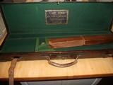 Vintage English Guncase - Leather, Brass Cornered with Henry Atkin Trade Label - 1 of 10