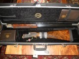 As New CSMC A-10 American Rose and Scroll Shotgun in Maker's Case (12 ga) -- BARGAIN PRICE! - 3 of 5