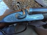W.R. Pape 12 gauge Side-by-Side Hammergun - 1 of 15