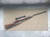Winchester Model 70 in .220 Swift, 1945 Manufacture with Period Stith Scope and Mount