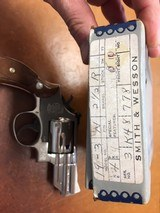 Nickel Smith and Wesson Model 19-3 .357 Magnum with Original Box and Sight Adjustment Tool - 4 of 11