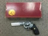 "Colt King Cobra .357 MAG Stainless 6"" Barrel 1989 manufacture"