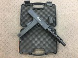 Cobray M-11/Nine mm, 9mm with barrel extension/shroud, original box, loader and one magazine.