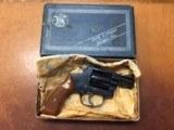 Smith & Wesson Model 50 Chiefs Special Target RARE Original Box & Grips