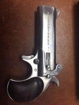 Very Rare American Derringer Model 4 Alaskan Survival Model .45/70 upper barrel .45LC/.410 Lower - 2 of 8
