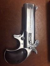 Very Rare American Derringer Model 4 Alaskan Survival Model .45/70 upper barrel .45LC/.410 Lower - 3 of 8