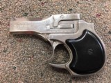 High Standard DM-101 Nickel .22 Magnum Derringer with box, instructions, more - 4 of 9