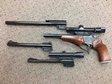 Thompson Center Contender with Four Barrels and Two Scopes