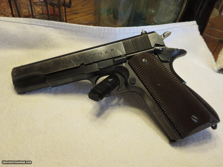 Colt sistema 1927 serial number dating