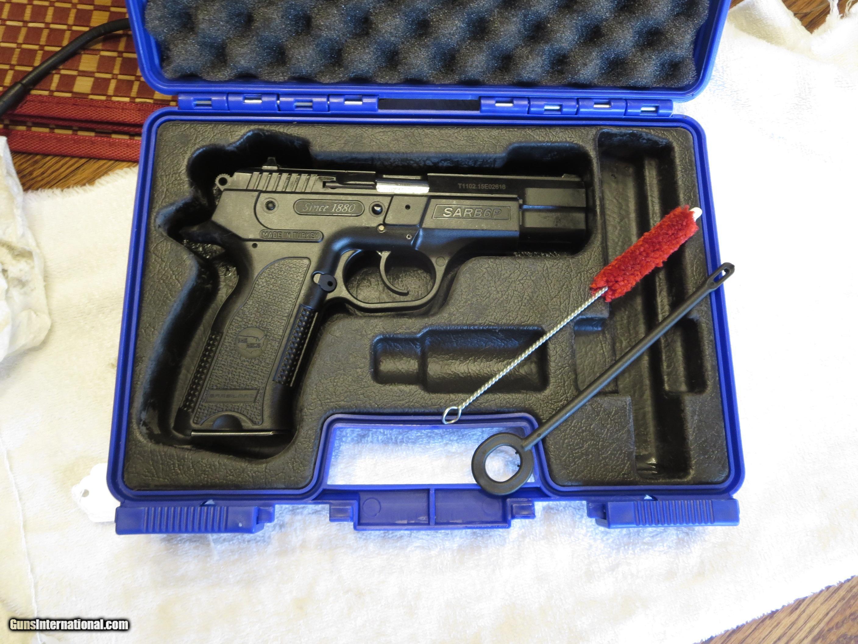 LNIB 2015 Sar Arms B6P Pistol in 9mm with 15 Rnd Mag,