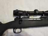 Winchester Model 70, 300 Win Mag, Original Synthetic Stock, Factory Muzzle Brake, Leupold Rifleman 3-9x50 Scope, Excellent Condition - 4 of 8