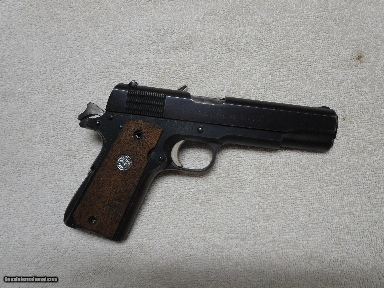 1973 Colt Series 70 1911, 45 ACP, Original Blue Finish