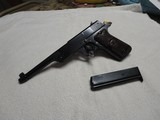 """1923 Reising """"The Bear"""" Target Pistol, 22LR, Hinged Barrel, Refinished, Grips, all in Excellent Condition, w/Period Correct Holster"""