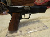 1967 Browning Hi-Power 9mm Pistol, 98% Finish, Bright Bore, Iconic Lighter Colored Grips, Non-import - 14 of 14