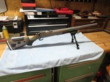 "new cz 455 receiver, 21"" lilja barrel, 22lr, mcarbo trigger spring/ext mag release, boyd at one stock, blackhawk bipod"