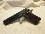 1958 Argentina Sistema Model 1927 1911 Pistol, 45 ACP, Period Correct Retro Grips, Numbers Matching