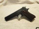 1947 Argentina Sistema Model 1927 1911, 45 ACP, Excellent Condition, Retro Wood Grips,