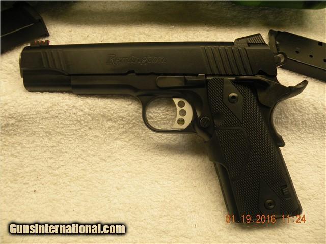Remington 1911R1 ENHANCED w/Crimson Trace Laser Grips