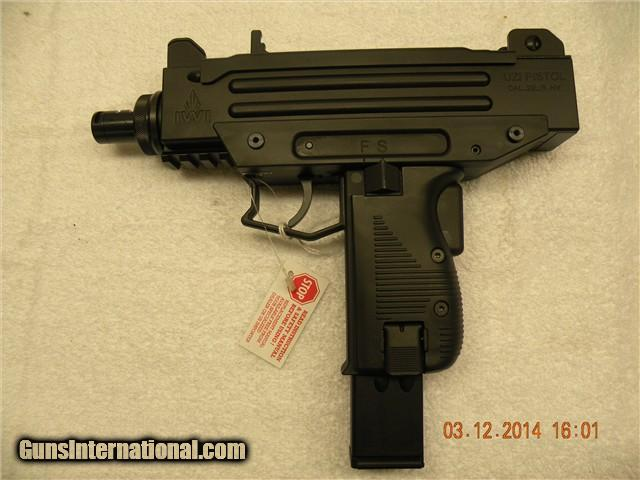 Walther Arms WAU UZI  22 LR Pistol